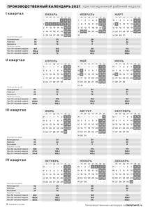 Календарь 2021 вертикальный, черно-белый, 5-дневка